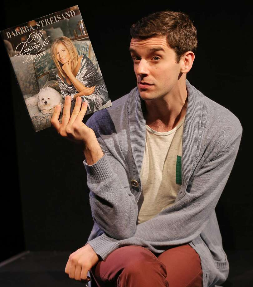 "Michael Urie also plays his ""co-star"" Barbra Streisand. Photo: Joan Marcus"