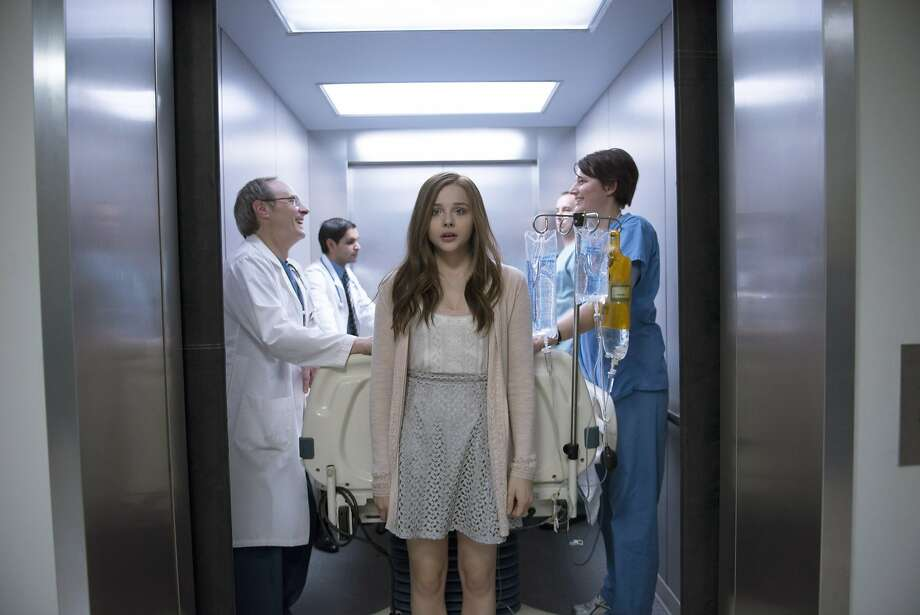 Chloë Grace Moretz plays one Mia in a coma and another, ethereal Mia deciding whether to fight for life. Photo: Doane Gregory, Associated Press