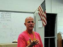 Danbury High School band director Paul Riley, who was selected as the district's teacher of the year, is leaving his post to teach in South Salem, N.Y.