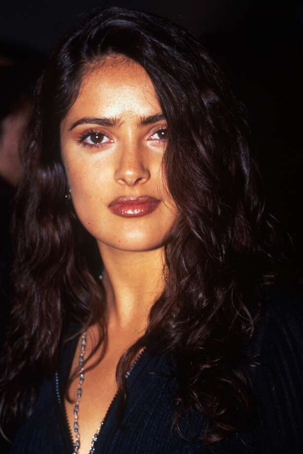 Actress Salma Hayek, 1996