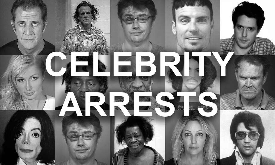 Celebrity mugshots, booking photos and arrests - Houston Chronicle