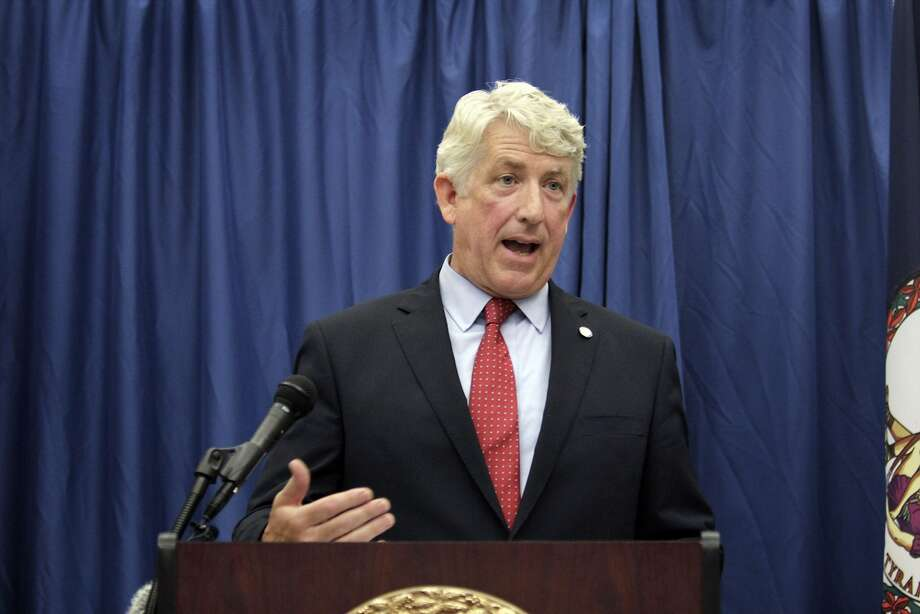 Another top Virginia Democrat — Attorney General Mark Herring — admitted Wednesday to putting on blackface in the 1980s, when he was a college student.  Photo: Jay Paul, Getty Images