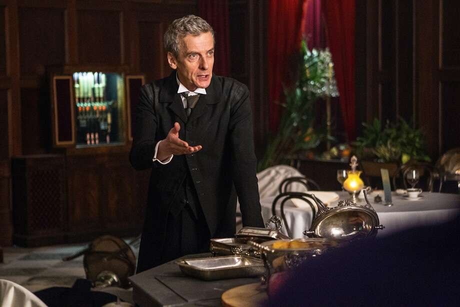 Doctor Who, Season 8, Episode 1, the Doctor (Peter Capaldi). Photo: Adrian Rogers/BBC Worldwide