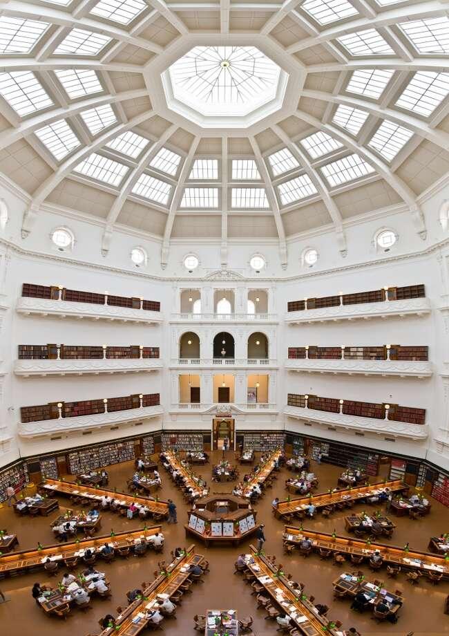 The State Library of Victoria in Melbourne, Australia, celebrated the 100th anniversary of its domed La Trobe Reading Room last year. Photo: David Iliff