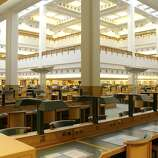 The British Library at St. Pancras, opened in 1998, holds more than 25 million printed books. Its collection includes the Magna Carta and Leonardo da Vinci's Notebook.