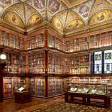 The exquisite Morgan Library & Museum in New York (built between 1902 and 1906 as the private library of financier Pierpont Morgan) houses rare books and manuscripts among its holdings.