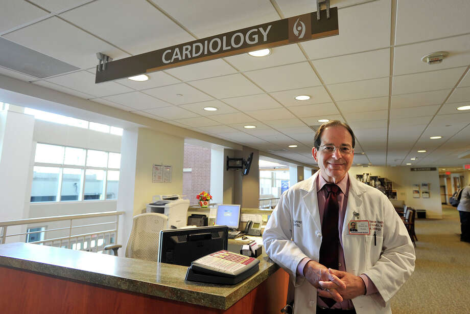 Steve Horowitz MD, the interim director of cardiology at Stamford Hospital, poses at Tully Health Center in Stamford, Conn., on Wednesday, Aug. 20, 2014. A recent study shows heart disease is on the decline. Photo: Jason Rearick / Stamford Advocate