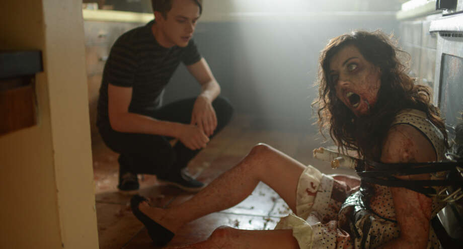 """Dane DeHaan and Aubrey Plaza in the zombie-com """"Life After Beth."""" Photo: A24 Films / ONLINE_YES"""