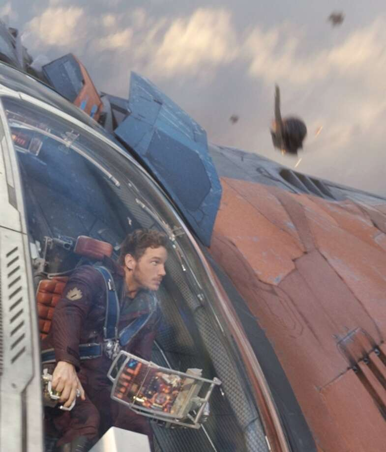 """Marvel's """"Guardians of the Galaxy"""" — yes, expect more explosions of landmarks. Photo: HANDOUT / McClatchy-Tribune News Service / MCT"""