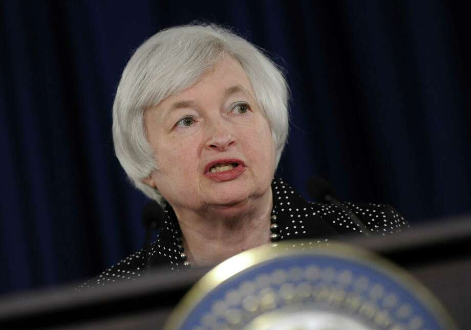 Federal Reserve Chair Janet Yellen has won credit for guiding the Federal Reserve's transition from the Ben Bernanke era. Photo: Susan Walsh, Associated Press / AP