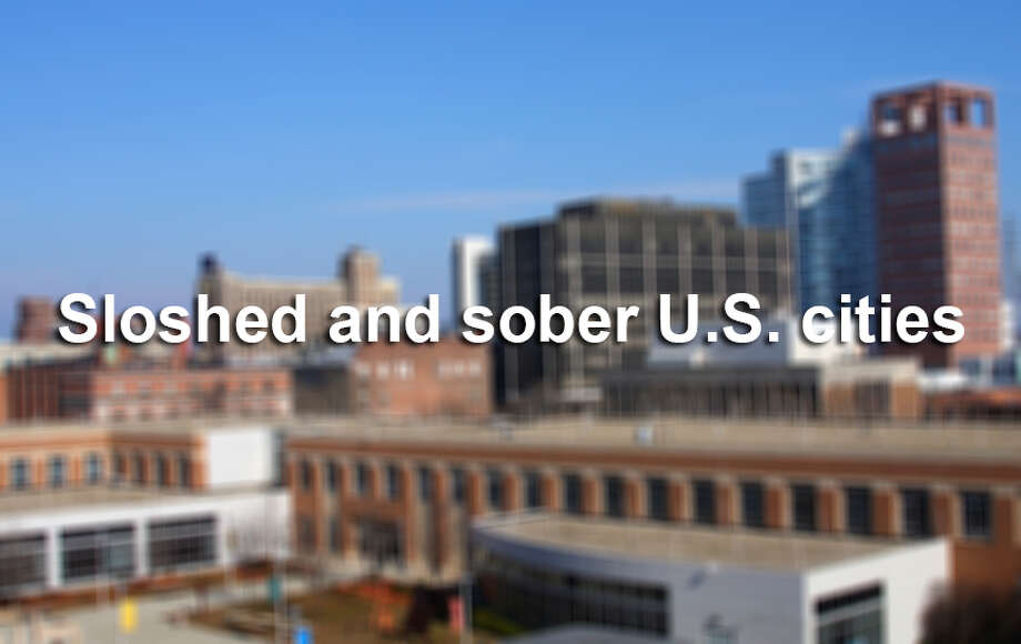 Men's Health came up with a listof 100 American cities ranked from soberest to drunkest, and San Antonio made the list. Here are the top 10 sloshed and sober cities. Think this list is off? Leave a comment.First, the soberest cities ... Photo: 966797, Getty Images / (c) 966797