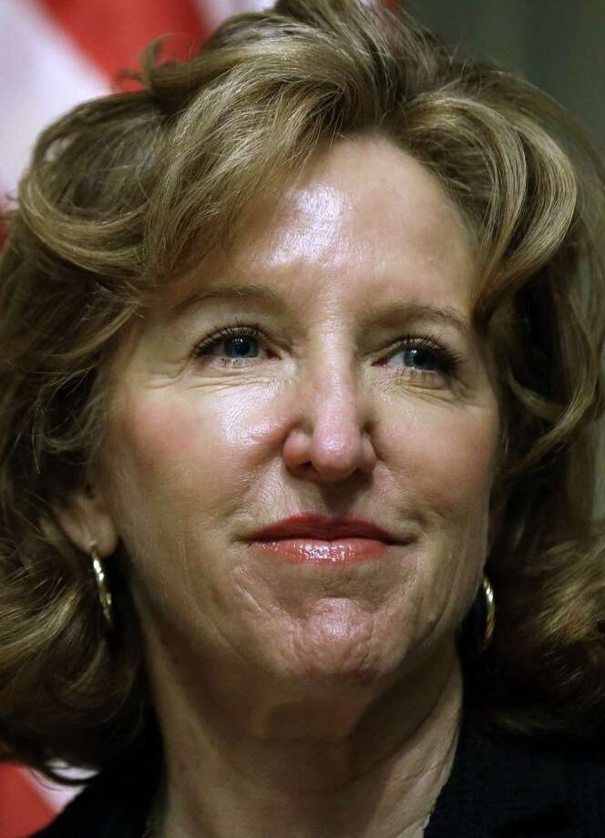 Sens. Kay Hagan in North Carolina faces heavy outside spending. / AP