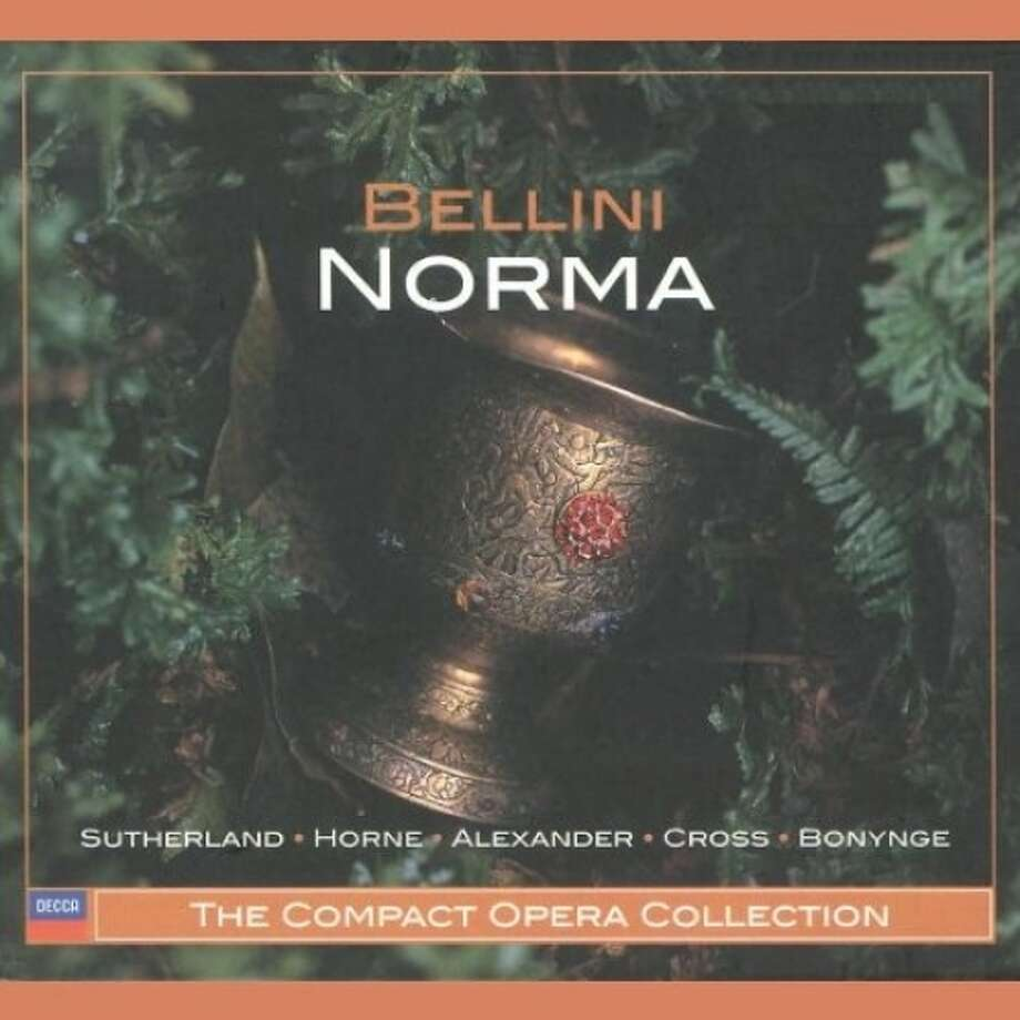 "CD cover: Bellini, ""Norma"" Photo: Decca Records / ONLINE_YES"