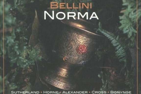 "CD cover: Bellini, ""Norma"""