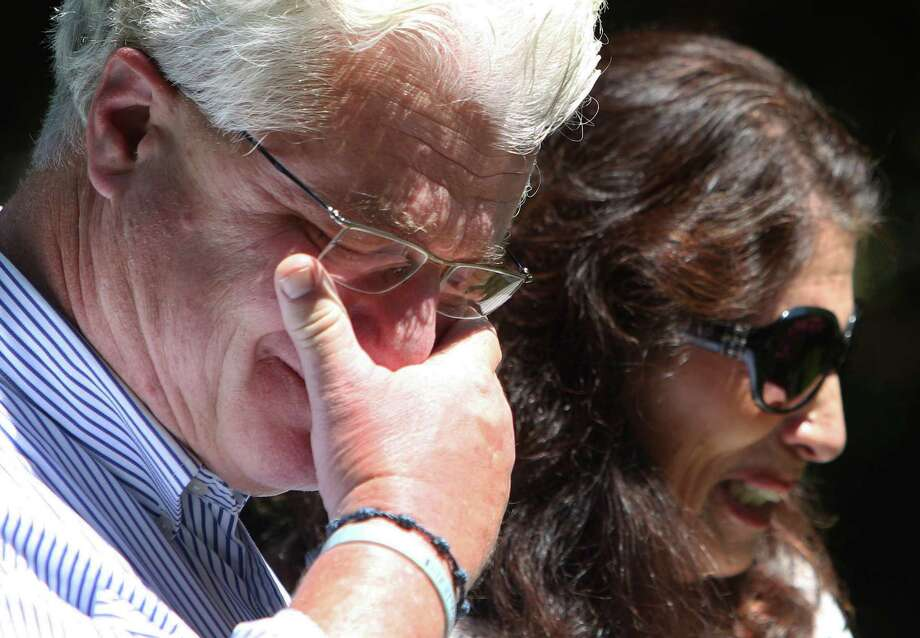 The parents of slain photojournalist James Foley, John and Diane Foley of Rochester, N.H., spoke Wednesday, urging the U.S. to save other captives. Photo: Jim Cole, STF / AP