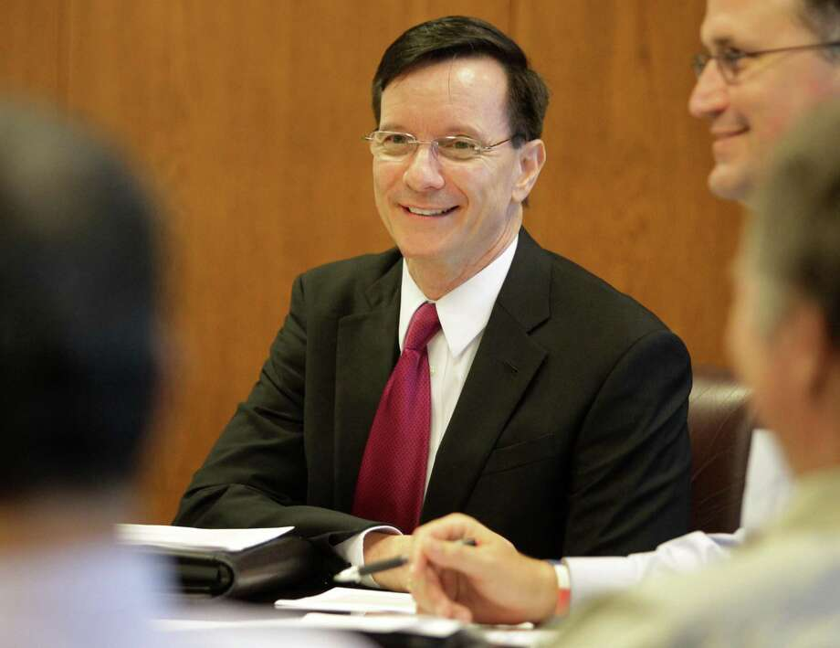Dale Rudick, director of Houston's Department of Public Works and Engineering, shown during a meeting Wednesday, Aug. 20, 2014, in Houston. ( Melissa Phillip / Houston Chronicle ) Photo: Melissa Phillip, Staff / © 2014  Houston Chronicle