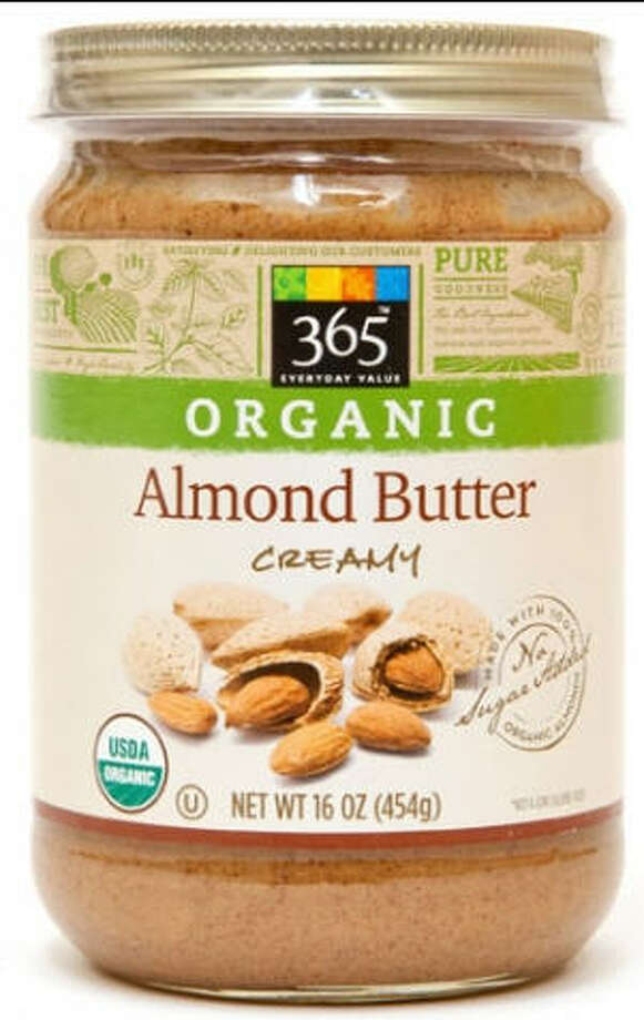 Two types of Whole Food 365 Almond butter have been recalled along with jars from Trader Joe's, Kroger, Safeway, Arrowhead and Marahatha. Photo: Wholefoodsmarket.com