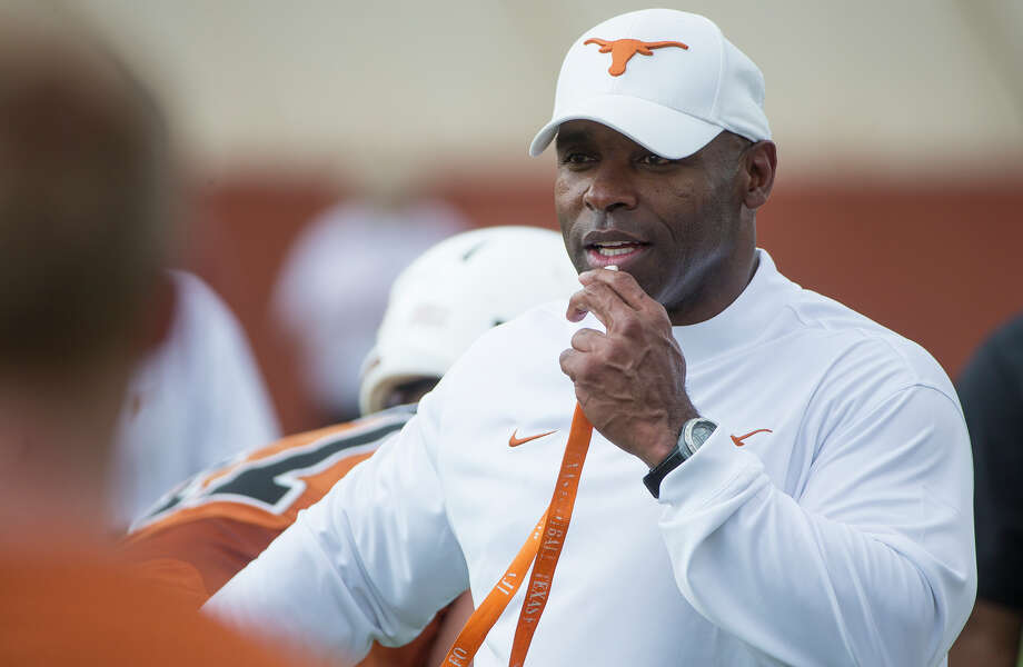Charlie Strong is the new sheriff in Austin. Photo: Ricardo Brazziell, Associated Press / AUSTIN AMERICAN-STATESMAN
