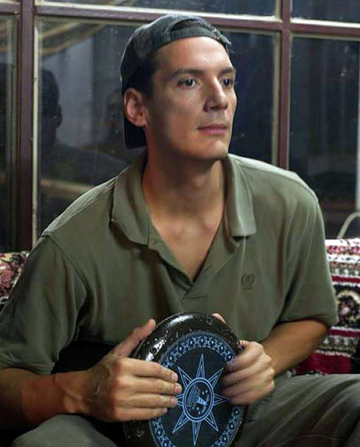 A picture taken in July 2012 shows freelance photographer Austin Tice in an undisclosed location. The American journalist has been missing in Syria since August 2012. AFP PHOTO/JAMES LAWLER DUGGANJAMES LAWLER DUGGAN/AFP/GettyImages