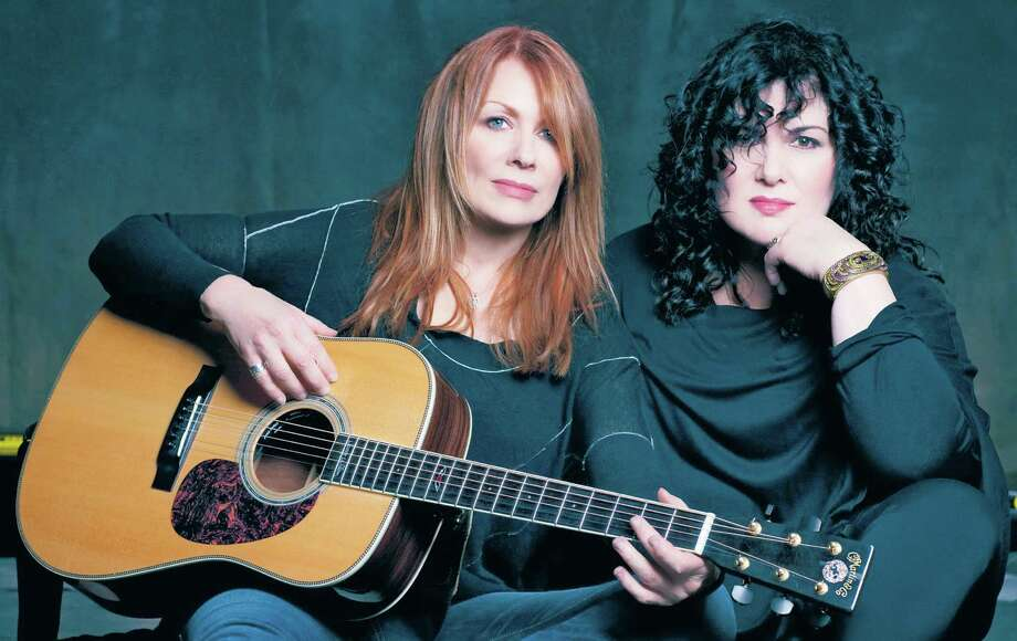 Rock and Roll Hall of Fame inductees Nancy, left, and Ann Wilson of the band Heart will perform Oct. 22 at the Stafford Centre. Photo: Photo: Norman Seeff