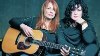 Rock & Roll Hall of Fame inductees Nancy, left, and Ann Wilson of the band Heart will perform Oct. 22 at the Stafford Centre.
