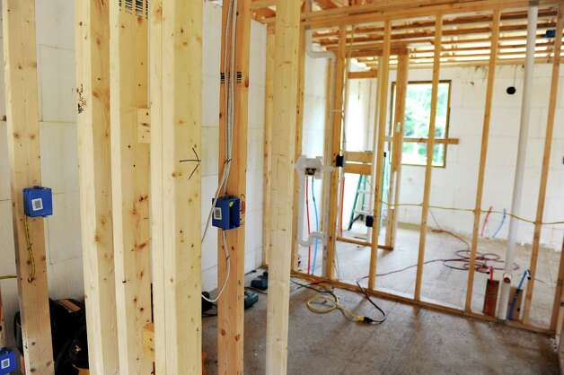 Inside a net zero house on Friday, Aug. 8, 2014, in Brunswick, N.Y.   (Cindy Schultz / Times Union) Photo: Cindy Schultz / 10028084A