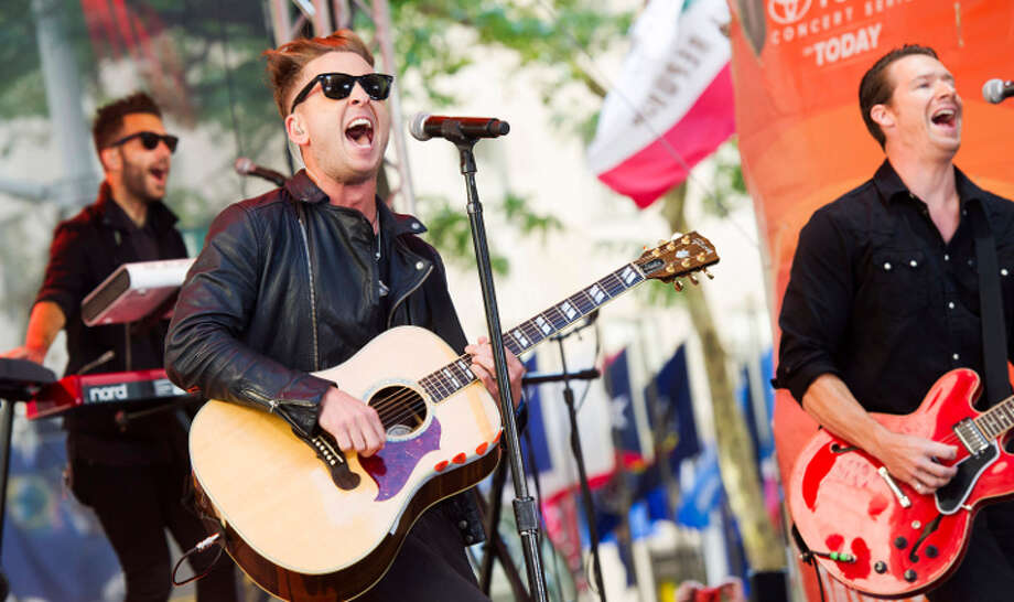 "OneRepublic  perform on NBC's ""Today"" show. Photo: Charles Sykes, AP / Invision"