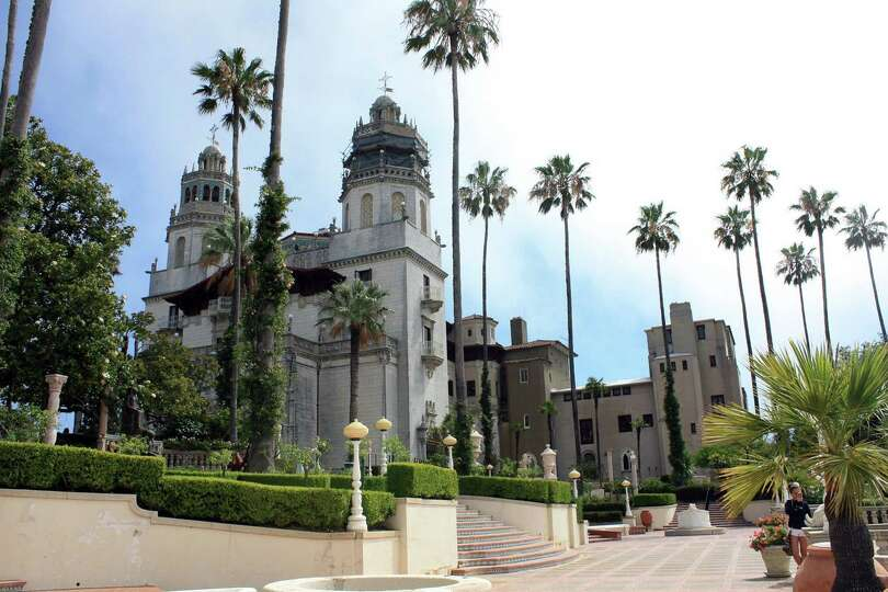 The towers on the main building at the Hearst Castle were modeled after towers on a church in Ronda,