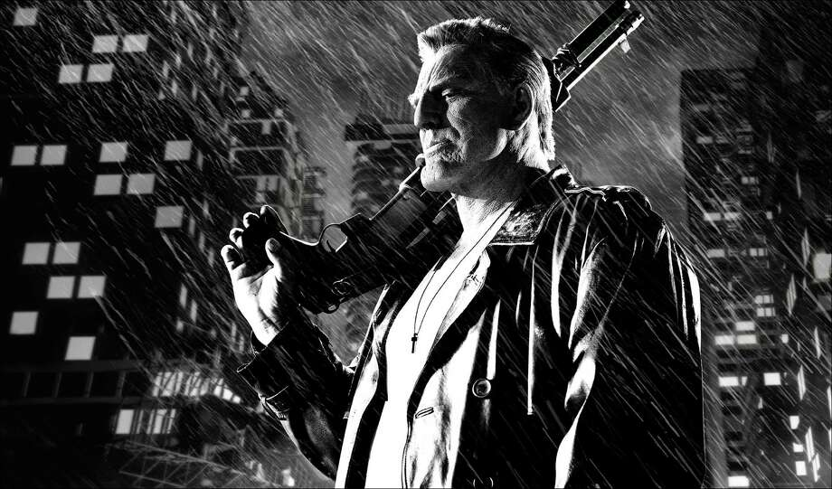 "This image released by The Weinstein Company shows Mickey Rourke in a scene from, ""Sin City: A Dame to Kill For."" (AP Photo/The Weinstein Company) ORG XMIT: NYET248 / The Weinstein Company"