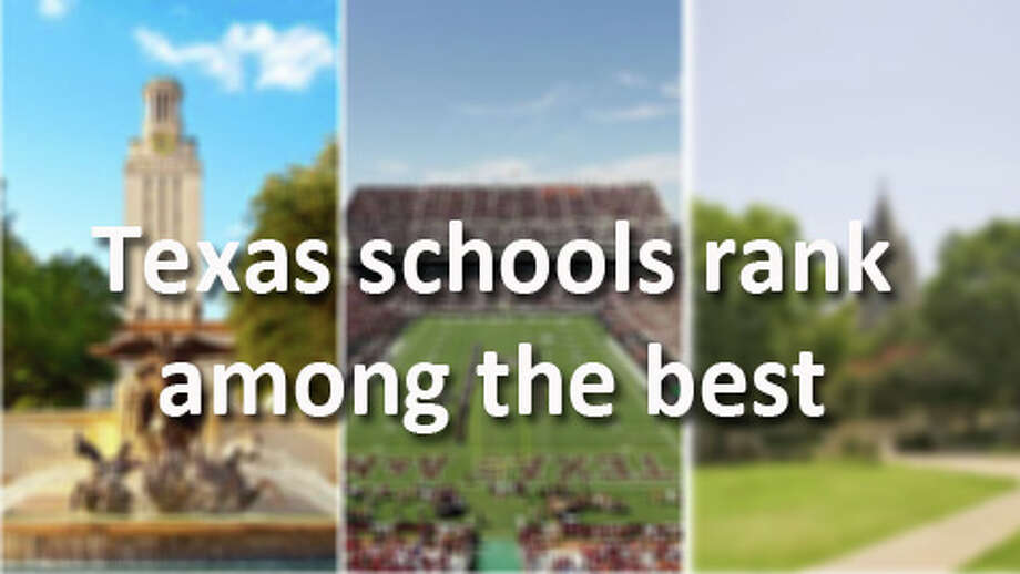Texas institutions of higher education rank among the world's top universities. No surprise there, check out some of the lists we've landed. Photo: Princeton Review