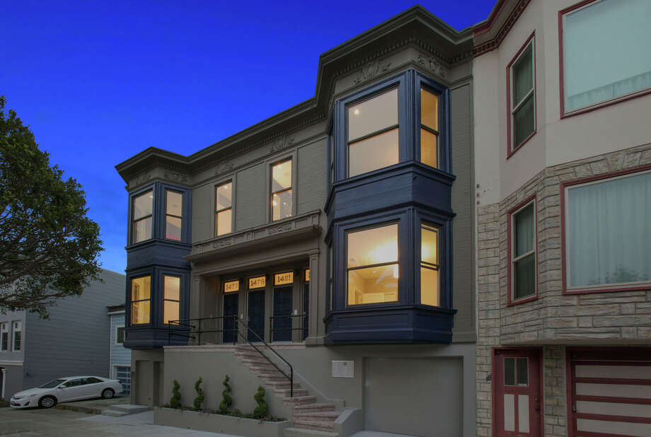 1479 Dolores St. is one of four newly built condos set inside an Edwardian building in Noe Valley. Photo: Open Homes Photography / ONLINE_CHECK