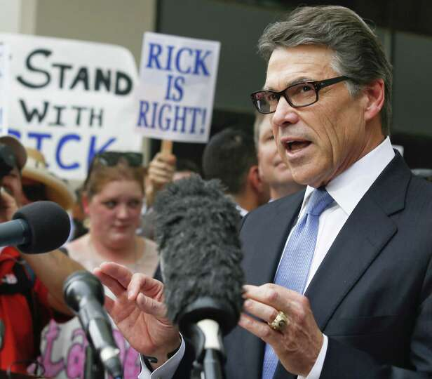 Gov. Rick Perry did nothing to deserve the two-count indictment handed down against him. Texas Democ
