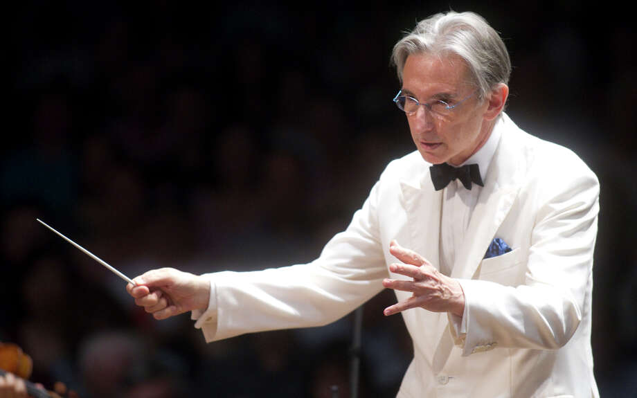 Michael Tilson Thomas, shown at the Boston Symphony Orchestra's summer season at Tanglewood in 2010, celebrates 20 years at the helm of the San Francisco Symphony this year — and he turns 70. Photo: MICHAEL J LUTCH, STR / NYT / NYTNS