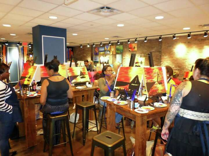 Muse Paintbar In Norwalk Opens This Thursday Sip On Wine