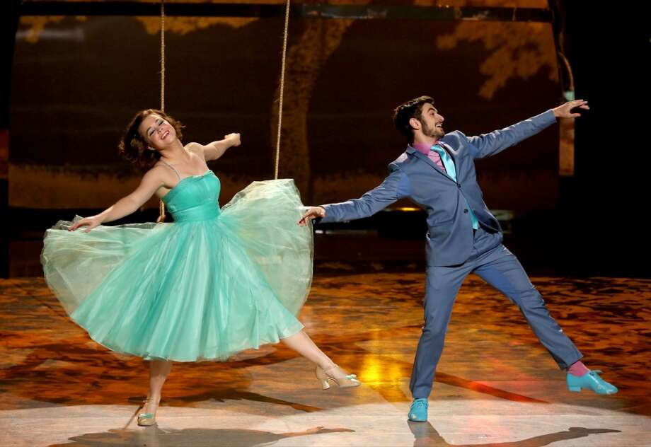 "SO YOU THINK YOU CAN DANCE: L-R: Top 6 contestants Valerie Rockey and Ricky Ubeda perform a Broadway routine to ""I've Got The World On A String"" choreographed by Spencer Liff on SO YOU THINK YOU CAN DANCE airing Wednesday, August 20 (8:00-10:00 PM ET/PT) on FOX. ©2014 FOX Broadcasting Co. Cr: Mike Yarish"