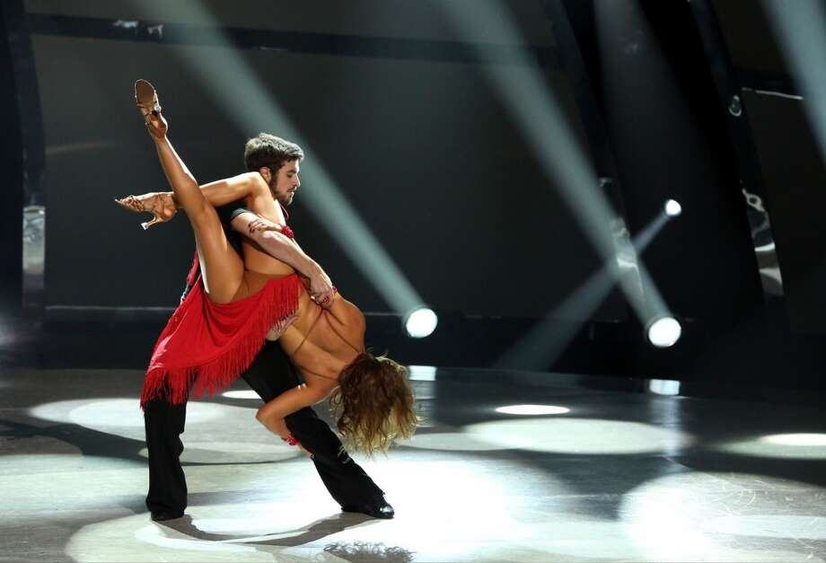 "SO YOU THINK YOU CAN DANCE: L-R: Top 6 contestant Ricky Ubeda and all-star Anya Garnis perform a Cha-Cha routine to ""Dare (La La La)"" choreographed by Jean-Marc Genereaux on SO YOU THINK YOU CAN DANCE airing Wednesday, August 20 (8:00-10:00 PM ET/PT) on FOX. ©2014 FOX Broadcasting Co. Cr: Mike Yarish"
