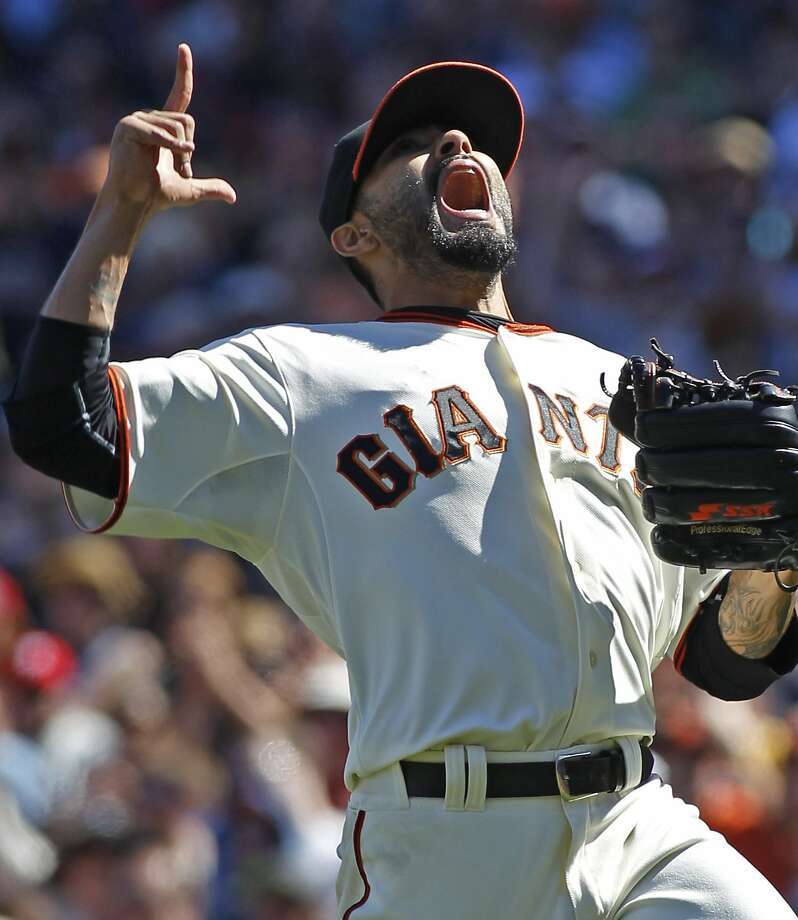 Sergio Romo, despite losing the closer's job, hasn't lost his enthusiasm this season. Photo: George Nikitin, Associated Press