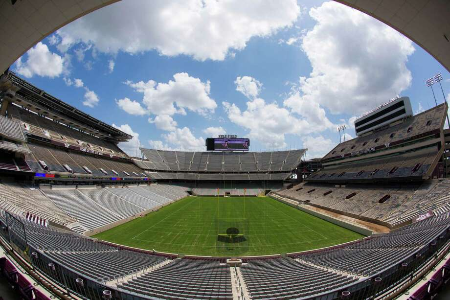 The first phase of the renovation of Kyle Field, with seating for more than 100,000, will be ready for the Aggies' home opener against Lamar on Sept. 6. Completion of the $450 million project is scheduled in time for the start of the 2015 season. Photo: Billy Smith II, Staff / © 2014 Houston Chronicle