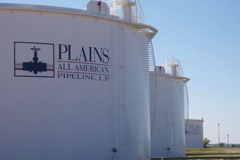 Plains All American Pipeline's fourth-quarter profit rose, but it said low commodity prices are prompting a cutback in capital spending. (Plains All American Pipeline) / handout