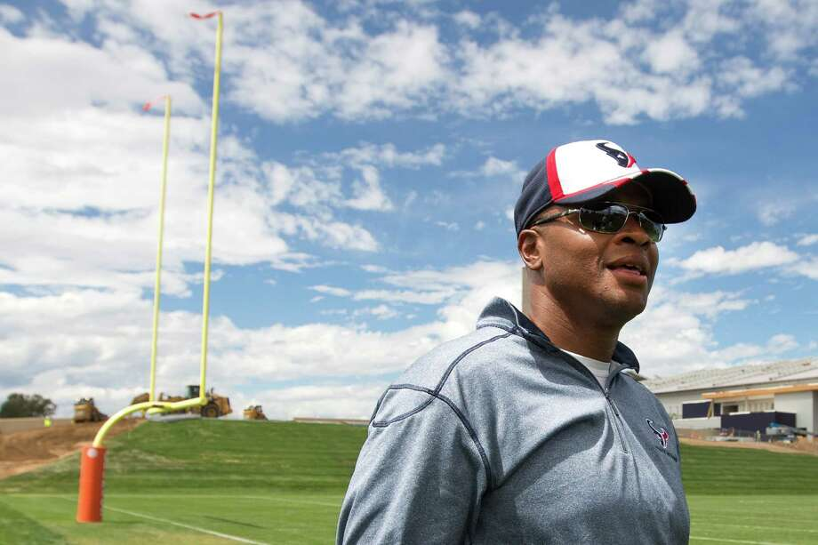 Texans general manager Rick Smith says he never lost sight of the team's ultimate goal - winning a Super Bowl - despite the disappointment of last season. Photo: Brett Coomer, Staff / © 2014 Houston Chronicle