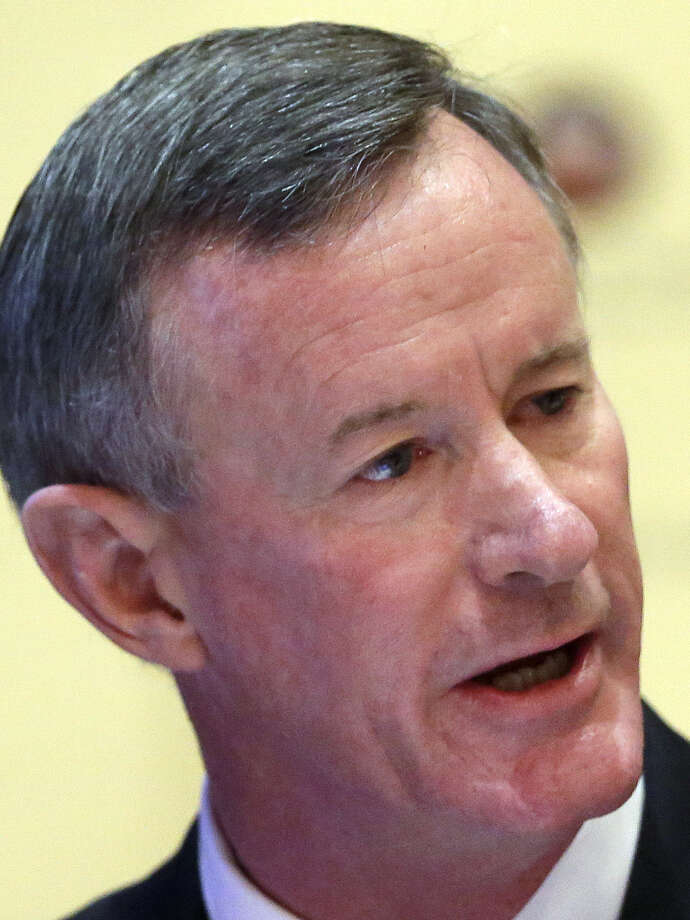UT System officials say Adm. William McRaven's pay to be the next chancellor is appropriate. / AP