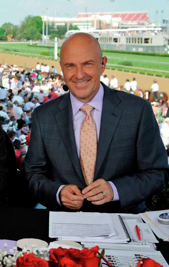 NBC horse racing analyst Randy Moss. (Courtesy NBC Sports Group)  NUP_149945_1593.jpg Photo: NBC / 2012  NBCUniversal Media, LLC