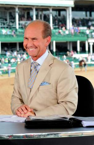 NBC horse racing analyst Jerry Bailey. (Courtesy NBC Sports Group)  NUP_149945_0495.jpg Photo: NBC / 2012  NBCUniversal Media, LLC