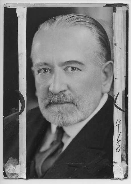 James D. Phelan, U.S. senator and San Francisco mayor. Photo: Chronicle File