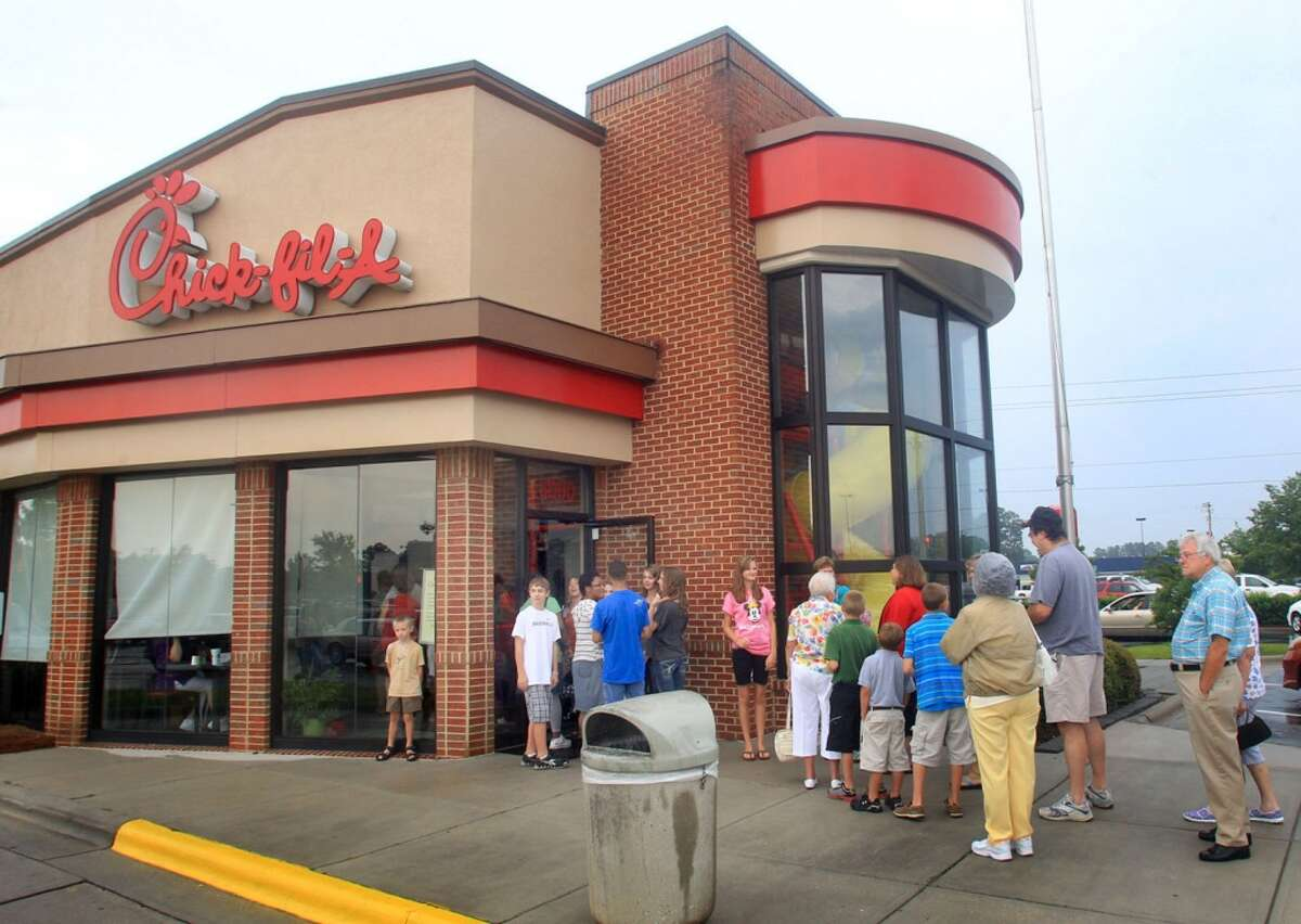 A file photo of a Chick-fil-a store.