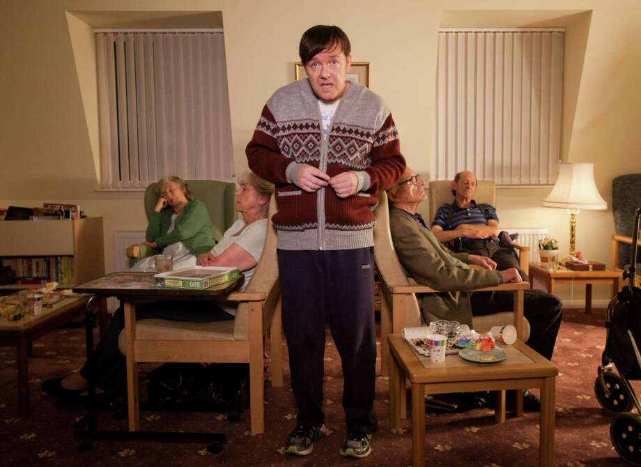 "Ricky GervaisNominee: Outstanding Lead Actor in a Comedy Series for ""Derek"" Photo: Netflix"