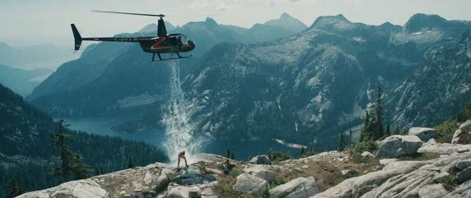 Paul Bissonnette, formerly of the Phoenix Coyotes hockey team, gets helicopter assistance to complete the ice bucket challenge.Posted on YouTube by: Bradley Friesen Photo: Molina, Maribel, YouTube
