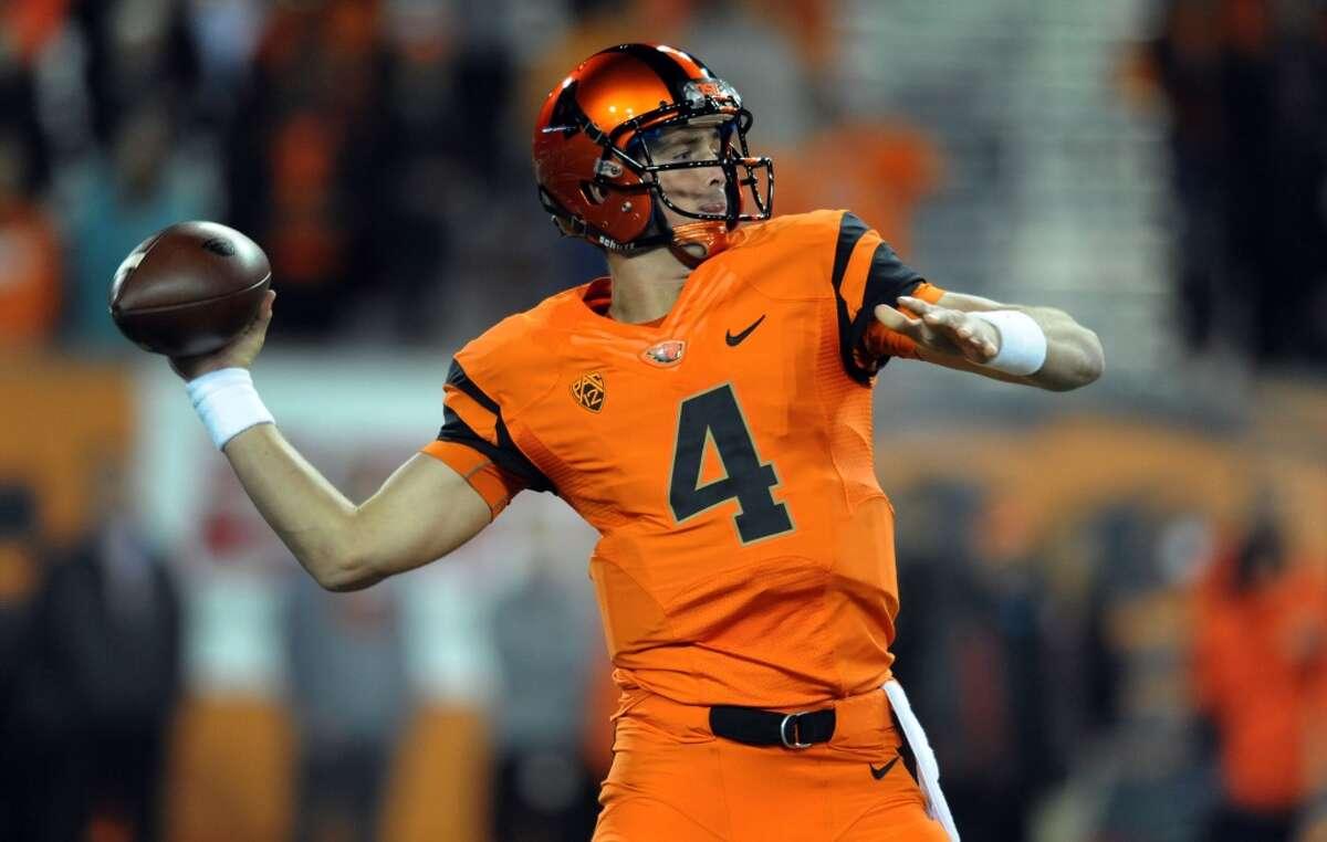 No. 10: Oregon State Team: Beavers Colors: Orange and black Source: USA Today