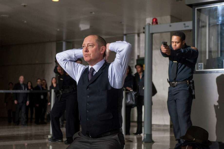 "This publicity image released by NBC shows James Spader as ""Red"" Raymond Reddington in ""The Blacklist,"" premiering Monday, Sept. 23 at 10 p.m. EST. (AP Photo/NBC, David Giesbrecht) Photo: David Giesbrecht, HOEP / NBC"