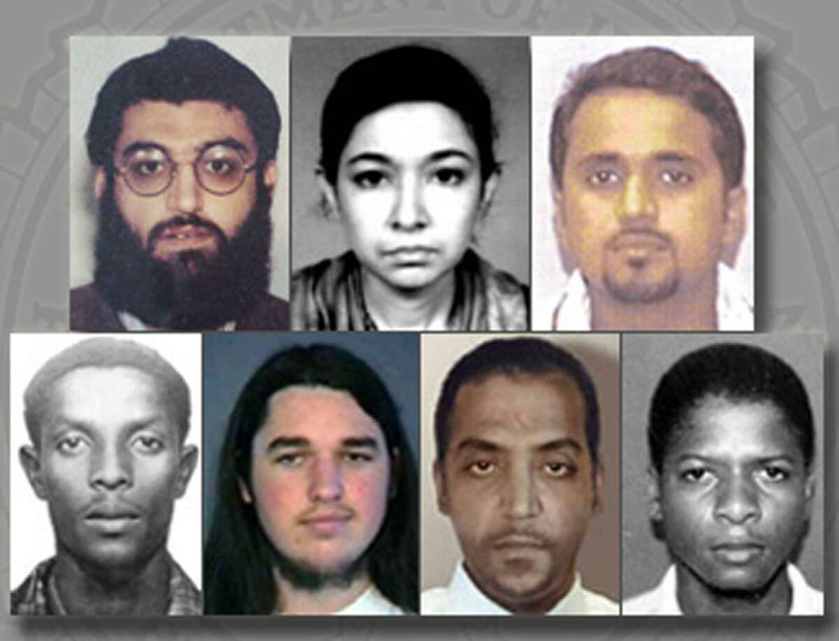 2. In 2004, Siddiqui was one of seven people, and the only woman, being sought by the U.S. that